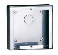 POWERCOM 1 MODULE STAINLESS STEEL SURFACE-MOUNTED HOUSING